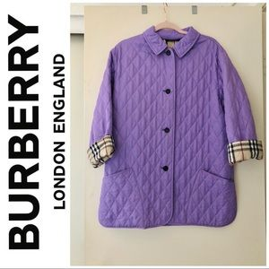 Authentic Burberry Diamond quilted jacket✨🤍